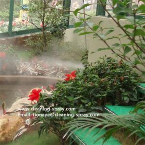 Brass outdoor high presure fine fog mist nozzle for mist