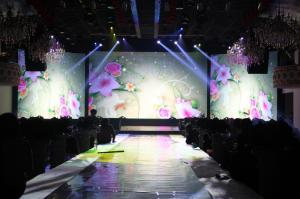 China 62500 pixel Hanging / Rental smd led curtain display for outdoor on sale