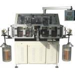 Máquina de bobina completamente automática del revestimiento de la devanadera de dos aviadores para el motor WIND-STR del mezclador del limpiador