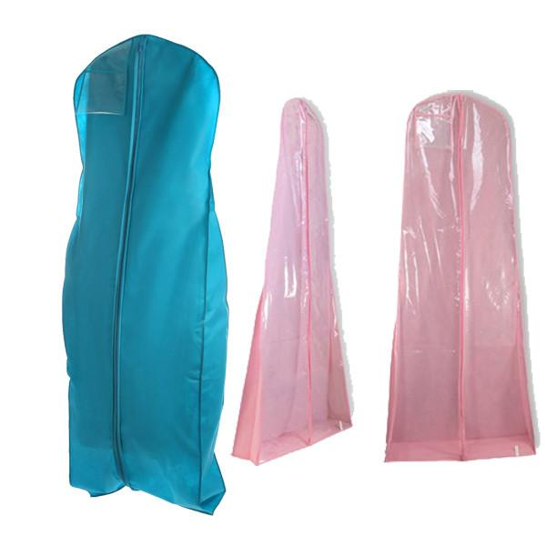Personalized Hanging Garment Bag for Wedding Dress , Blue / Pink ...