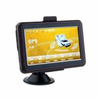 5 Inch Touchscreen GPS Car Navigation, Sat Nav System with Bluetooth, AV-IN, ISDB-T function