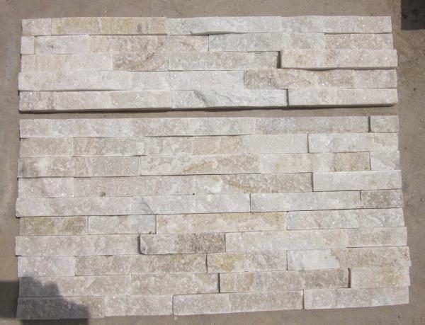 Milk White Quartzite Thin Stone Veneer