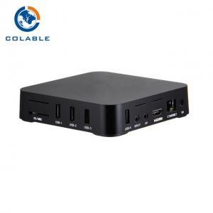 China Digital Network IPTV TV Set Top Box MI CVBS SCART Output 1920 X 1080 Resolution on sale