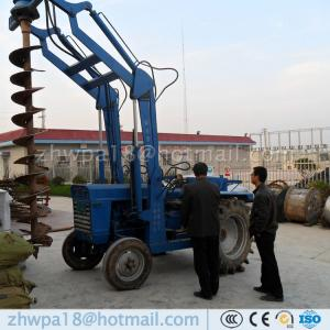 China Competitive price tractor mounted piling drilling rig hydraulic earth auger on sale