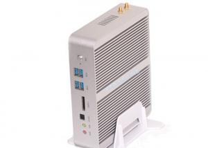 China i5-5200U Dual NIC fanless rugged mini pc 4 USB3.0 4USB2.0 with WIFI Bluetooth on sale