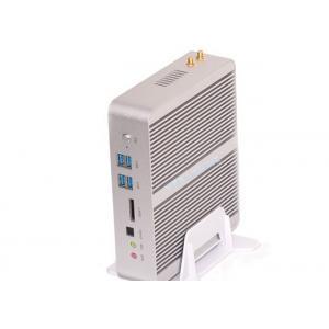 China i5-5200U Dual NIC fanless rugged mini pc 4 USB3.0 4USB2.0 with WIFI Bluetooth on sale