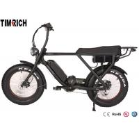 Mid Drive Electric Battery Powered Bike 48V 15AH Battery Charge Time 4-6 Hours