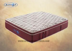 China Customize Sleep Well Pocket Coil Zoned Mattress / Gel Memory Doam Mattress on sale