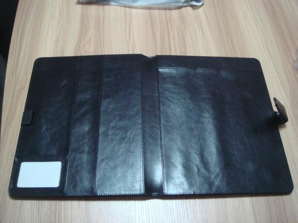 protective foldable pu checkbook log book cover hotel hotel