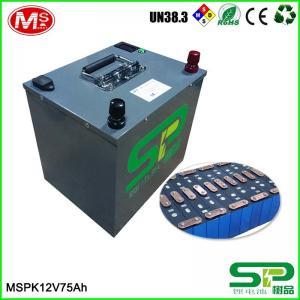 China 12V 24V LiFePO4 EV Car Battery Storage , Lithium Battery For Electric Car on sale