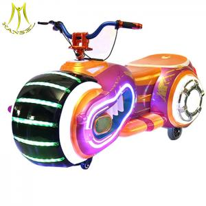 China Hansel  wholesale low price amusement park ride on remote control motor bike for sale on sale