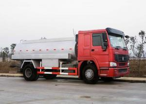 China Small Petrol Tank Truck 5-6 CBM 4X2 LHD Euro 140HP Fuel Tank Trailer on sale
