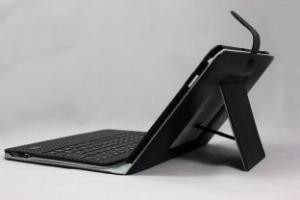 China Landscape Samsung Galaxy Tab 10.1 Case with Bluetooth Keyboard Tablet PC P1000 with Stand on sale