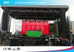Exhibición llevada 10m m transparente de alquiler al aire libre de la echada del pixel de la pantalla del LED