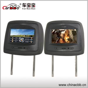 China 7 inch smart car headrest monitor with USB/SD MMC car and input HDMI on sale