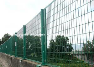 China Metal da segurança do fio do estilo de Europa que cerca os painéis para a agricultura/construção on sale