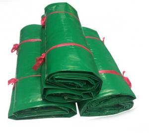 China 100% Polyester 610g Vinyl Coated PVC Tarps , Super Heavy Duty 18oz PVC Vinyl Tarpaulin on sale