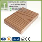 UK Outdoor Fireproof 3D Embossed Plastic Wood Planks Floor Waterproof Composite WPC Decking