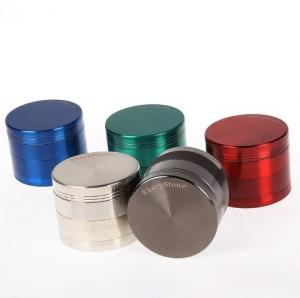 China Original SharpStone Grinders Alloy Herb Tobacco Grinder herbal 4 Piece Grinder Spice Crusher Cigarette Machine Magnet on sale