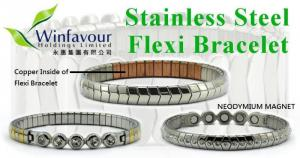 China stainless steel magnetic bracelet on sale
