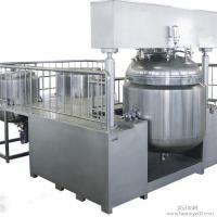 China 30L Cosmetic Vacuum Emulsifying Mixer With Vacuum Pump , Emulsifying Blender on sale