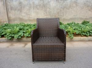 Quality factory garden living rattan chair for sale
