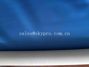 China Colorful Smooth Neoprene Fabric Roll One Side Embossed With Blue Nylon Spandex Polyester on sale