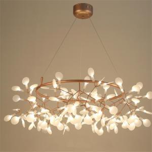 China Nordic art glass chandelier postmodern restaurant bar chandelier personality chandelier lamp LED fixture on sale