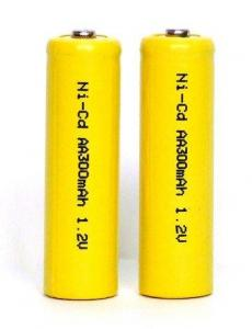 China Nicd Batteries (AA Size 300mAh Rechargeable) on sale