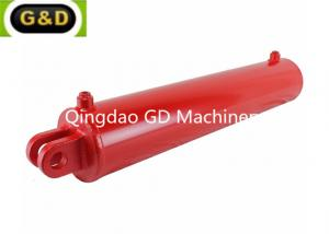 China Double Acting Log Splitter Hydraulic Cylinder with Welded Clevis on sale