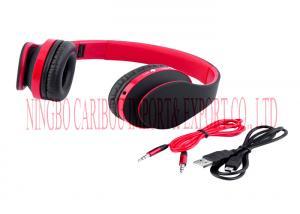 China Hifi Stereo Blue Tooth Headphones , Wireless Sport Headphones Hidden Microphone on sale