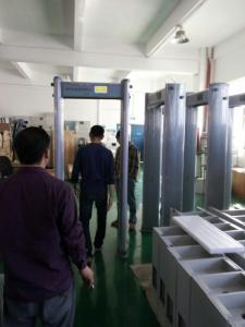 China 33 zones AB3300 water proof walkthrough metal detector on sale