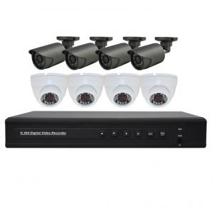 China HOT Video Management System 8CH AHD DVR KIT 720P HD Surveillance DVR KIT on sale