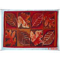 Leaves fancy design beatiful home decorative tapestry floor mats for car
