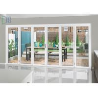 Heavy Duty Aluminium Folding Doors with Single / Double Tempered Glazing