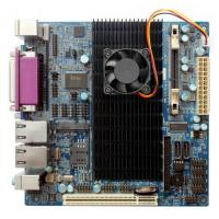 China I425M1023A Intel Atom D525 Mini ITX motherboards, 10COM(R232),2Giga LAN,embedded mothrboard on sale