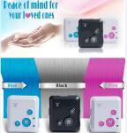 China Spy mini realtime gsm gprs tracker sos button elderly cell phone reachfar rf-v18 wholesale
