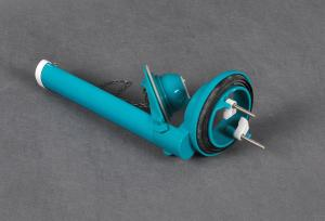 China Toilet Flush Mount Valve Stem , Toilet Cistern Parts Flush valve Hand Control on sale