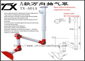 China Profesional Laboratory Fume Extractor Standard Szie Or Cutomized on sale