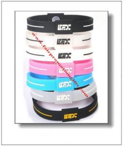 China Balance Silicone Efx Bracelet on sale