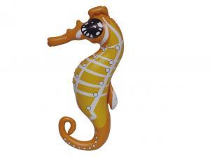 China Lifelike Cute Inflatable Pool Animals Sea Horse Shaped 20'' Marketing Displays on sale
