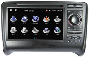 China 32GB SD AUDI TT Car Radio GPS DVD Players With Steering Wheel Control AUD-7795GD on sale