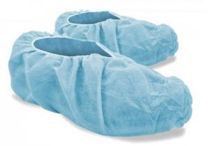 China Fluid Resistant Disposable Protective Shoe Covers For Clean Room / Healthcare Center on sale