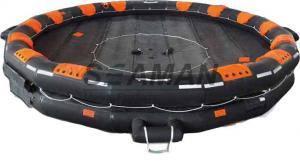 China balsa salvavidas inflable reversible abierta de 50/100 personas/balsa salvavidas marina on sale
