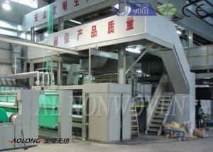 China Professional SMS Spunbond PP Non Woven Fabric Machine For Operation Suit 0~350m/min on sale