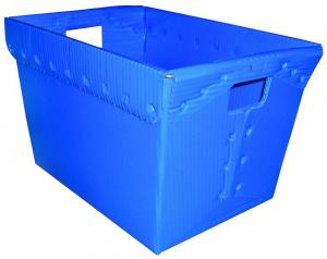 China pp/pe plastic corrugated coroplast corflute correx hollow board sheet packaging storage moving tray box carton on sale