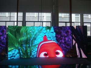 China 1800 cd / m P4mm Video Indoor Led Display Screen Horizontal 150° on sale