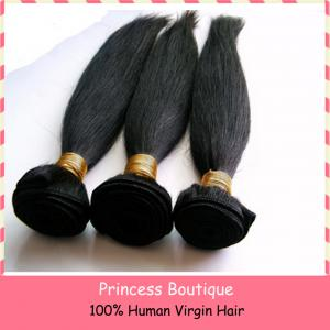 China Wholesale Brazilian virgin natural hair weaves for black women on sale