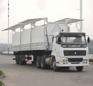 China conton transport wing open trailer on sale