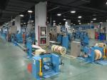 Sky Blue Plastic Extrusion Line , electrical wire making machine Max Speed 600M/min